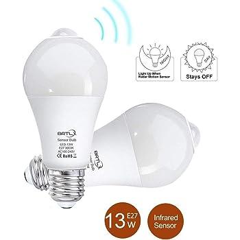 Adoric LED Glühbirne, Dimmbare E26E27 Light Bulb, 10W RGBW