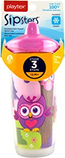 Playtex Sipsters Stage 3 Spout Cup - Owl (93016198- OWL)