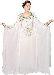 7cc11525468 Bedi Arabe Caftan Islamique Abaya Farasha Style Emirats Arabes Unis  FEMME SMAXI Robe Musulmane Robe