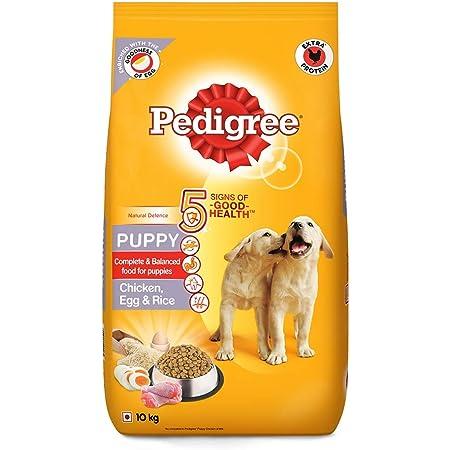 Pedigree Puppy Dry Dog Food, (High Protein Variant) Chicken, Egg & Rice, 10 kg
