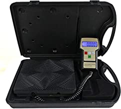 Aain LX36575D High Accuracy A/C Electronic Digital Refrigerant Charging Weight Scale with Case for HVAC 220lbs