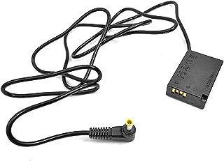5.0x3.0mm LP-E17 DR-E18 Batería Falsa de Acoplamiento DC para cámara Canon EOS RP 77D 200D 800D T6s 760D T6i T7i 750D Kiss 8000D x8i - Negro