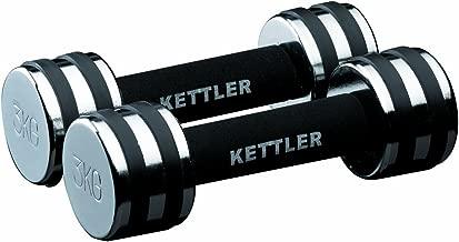 Kettler Chrome Dumbbells (Pair) - 4 kg, Chrome