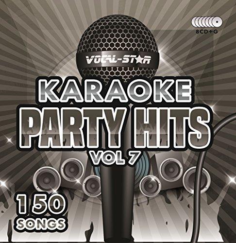 Karaoke Party Hits Vol 7 CDG CD+G Disc Set - 150 Songs...