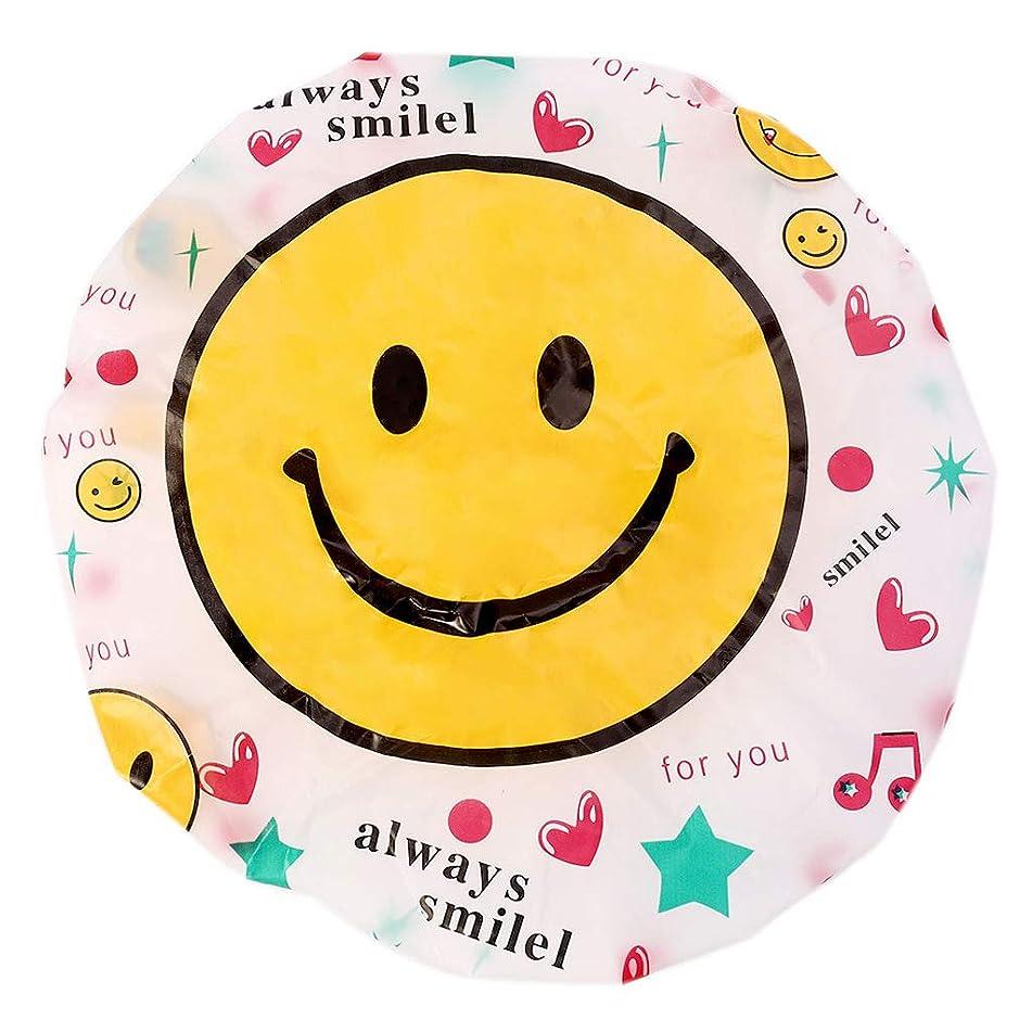 精査服歌手SimpleLifeシャワーキャップ、素敵な再利用可能なヘアラップ防水シャワー風呂シャワーヘッドキャップ用女性女の子