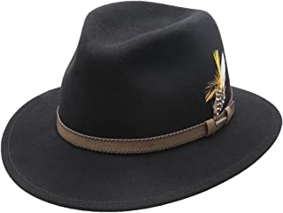 d408945960712c Amazon.com: Stetson - Fedoras / Hats & Caps: Clothing, Shoes & Jewelry