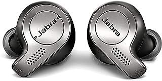 Jabra Elite 65t Kulak içi Kulaklık – Gerçek Kablosuz Aramalar ve Müzik için Dörtlü Mikrofon Teknolojisine Sahip, Pasif Gür...