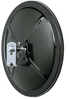 CIPA 48850 Black Round Convex Mirror