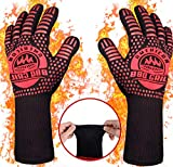 BBQ Gloves (Regular (33cm), Red)