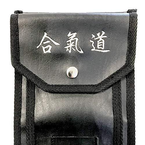 YORYU Funda Aikido para Jo Bokken y Tanto en Piel sintética
