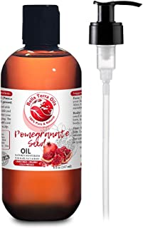 NEW Pomegranate Seed Oil. 8oz. Cold-pressed. Unrefined. Organic. 100% Pure. Rich in Antioxidants. Hexane-fr...