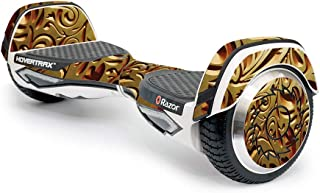 MightySkins Skin Compatible with Razor Hovertrax 2.0 Hover Board - Mosaic Gold | Protective, Durable, and Unique Vinyl Decal wrap Cover | Easy to Apply, Remove, and Change Styles | Made in The USA