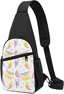 Bolsa de hombro ligera con patrón de animales, para llevar al hombro, mochila cruzada, bolsa cruzada, para viajes, senderi...