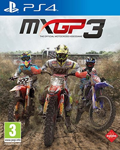 PS4 MXGP 3 THE OFFICIAL MOTOCROSS VIDEOGAME MULTILINGUA ITALIANO