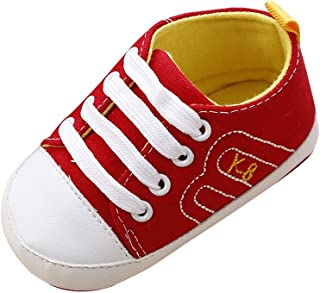 Weixinbuy Baby Girls' Canvas Sneaker Anti-sShoes