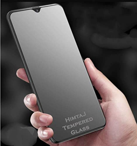 HIMTAJ Matte Tempered Glass for Mi 10i Jan 2021 Launched Pack of 2 100 Glass Material with Camera Cut and Ideal for Gaming Full Screen Coverage except edges Screen Protector Guard