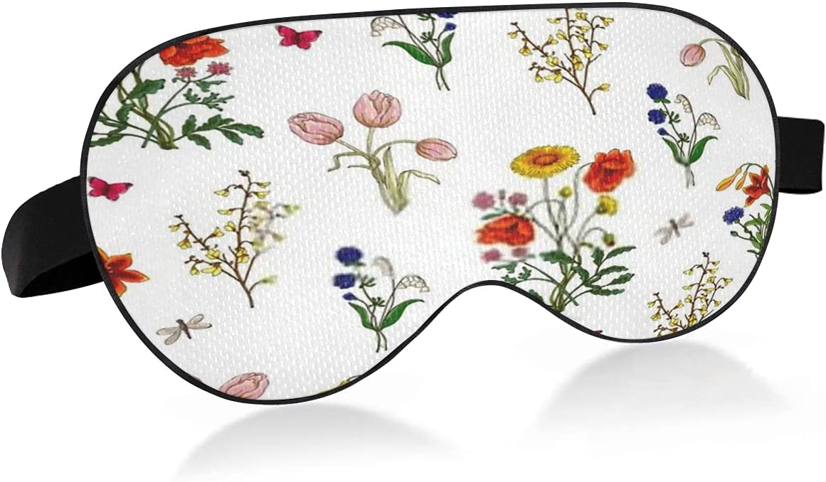 Sleep Bargain Mask with Popularity Eyes That Block Light Dry and Relieve Tulip