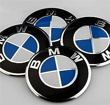 Carsticker 4 x 56mm Wheel Cap Sticker SELF Adhesive Logo Badge Emblem for BMW