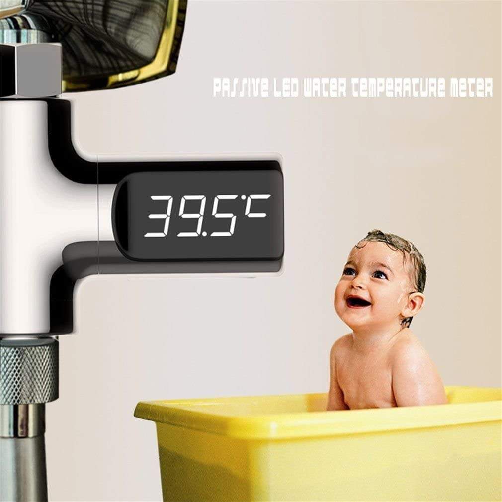 Dusche LED Digital Thermometer, Akku kostenlos, greewe Wasserhahn ...