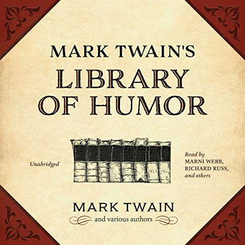 Mark Twain's Library of Humor audiobook cover art