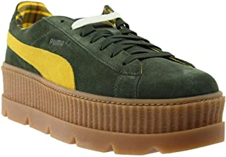 PUMA Mens Fenty by Rihanna Suede Cleated Creeper Casual Sneakers,