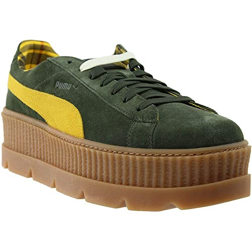24923ae71964 PUMA Mens Fenty by Rihanna Suede Cleated Creeper Casual Athletic   Sneakers