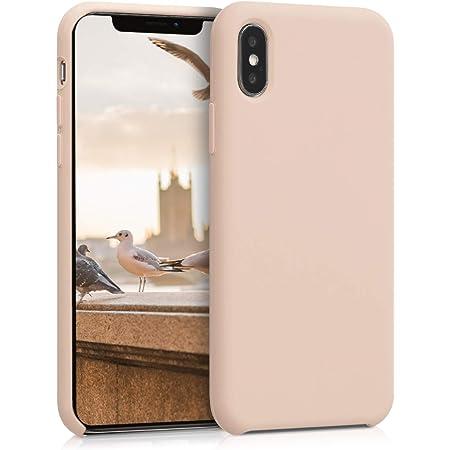 kwmobile Coque pour Apple iPhone X - Coque Housse - Housse de téléphone Nacre