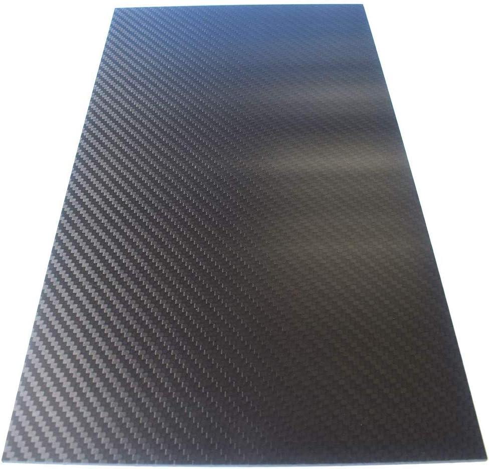 Max 50% OFF BAIWANLIN free shipping 3K Carbon Fiber Pure Sheet Panel Laminate Weave Plate