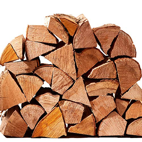Hardwood Firewood Chunky Logs 15KG - Kiln Dried - Large Heavy 40L Net, 25cm Long, Perfect for Open Fire Stoves, Log Burner, Fire Pits, Pizza Ovens Fast Delivery