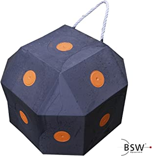 Hemistin 6-seitiges 3D Pfeil-Ziel-W/ürfel-Schaum-Ziel Gro/ßes W/ürfel-Bogenschie/ßen-Ziel