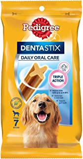 Pedigree Dentastix, Large Dog Dental Treats, Adult, 56 Count