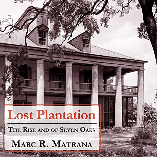 Lost Plantation audiobook cover art