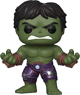 Funko FU47759 Pop! Games: Avengers Gamerverse - Hulk with Stark Tech Vinyl Figure,Multicolor,3.75 inches