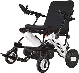 Inicio Accesorios Silla de ruedas eléctrica inteligente plegable para personas mayores con discapacidad Sistema de asistencia móvil con motor plegable Silla de ruedas potente con motor dual (baterí