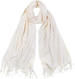 Womens Large Soft Cashmere Feel Pashmina Shawls Wraps Winter Scarf SC304