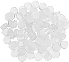100 Pieces Silicone Flute Plug, Universal Rubber Open Hole Plug Covers, Flutes Repair Parts Accessories for Most Brand Flu...