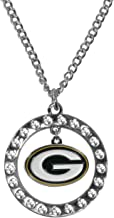 Siskiyou NFL womens Rhinestone Hoop Necklaces