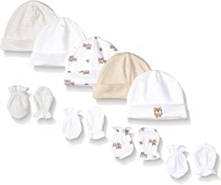 Gerber Baby 9-Piece Cap and Mitten Bundle