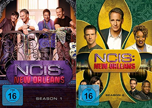 Navy CIS / NCIS New Orleans - Staffel 1+2 im Set - Deutsche Originalware [12 DVDs]