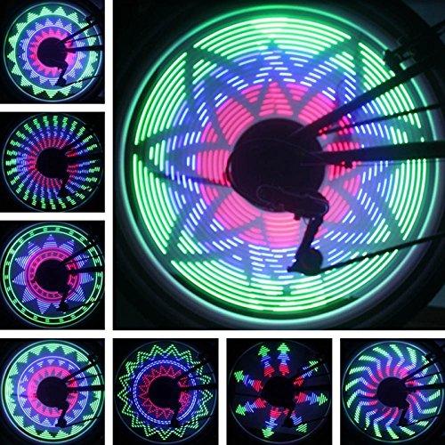Bazaar 36 rgb LED 32 modèles roue lampe lumière de vélo bicyclette vélo a parlé de lumière