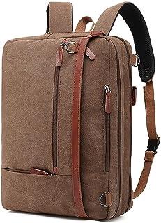 Backpack 17.3 Inch Laptop Backpack Multifunctional Large Capacity Travel Bag,Coffee