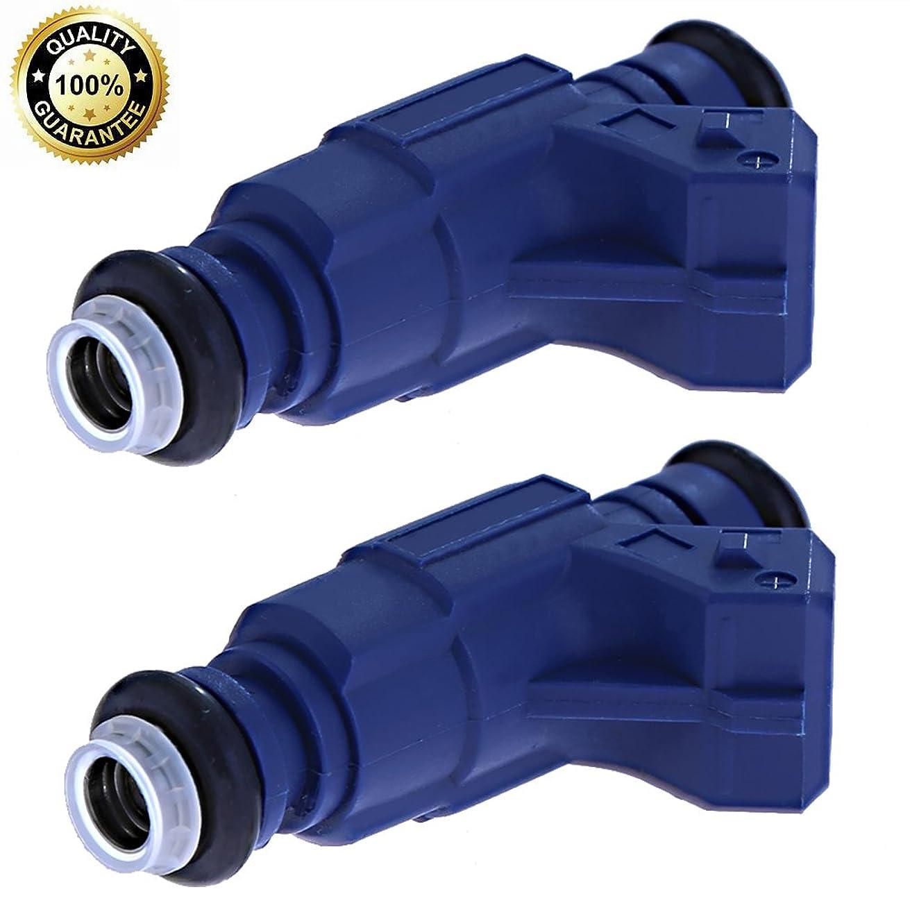 Fuel Injector 0280156208 for Polaris RZR Sportsman Ranger EFI 700 800(pack of 2)