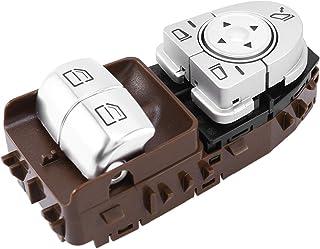 مفتاح نافذة السيارة ، لمرسيدس بنز C205 C43 C63 2015-2020 ، زر رافع مفتاح النافذة الكهربائية للسيارة