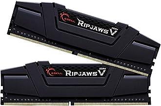 G.SKILL 16GB (2 x 8GB) Ripjaws V Series DDR4 PC4-28800 3600MHz for Intel Z170 Platform Desktop Memory Model F4-3600C16D-16GVK