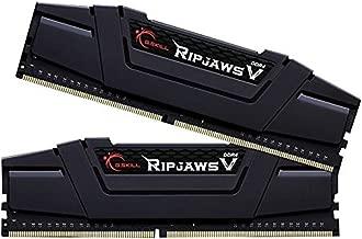 G.Skill 16GB (2 x 8GB) Ripjaws V Series DDR4 PC4-25600 3200MHz Desktop Memory Model F4-3200C14D-16GVK