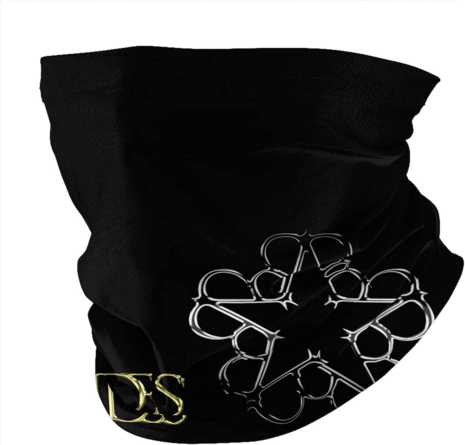 Black Veil Brides Logo Unisex Neck Gaiter Face Mask Mens Woman Multifunction Balaclava Face Cover,Cycling Mask,Sport Neck Gaiter,Hiking Scarf,Fishing Mask, Motorcycle Face Cover