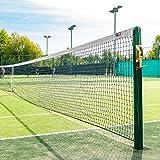 Vermont Red de Tenis de Calidad Profesional – 12,8m para Dobles (Gama de Opciones) (2,5mm)