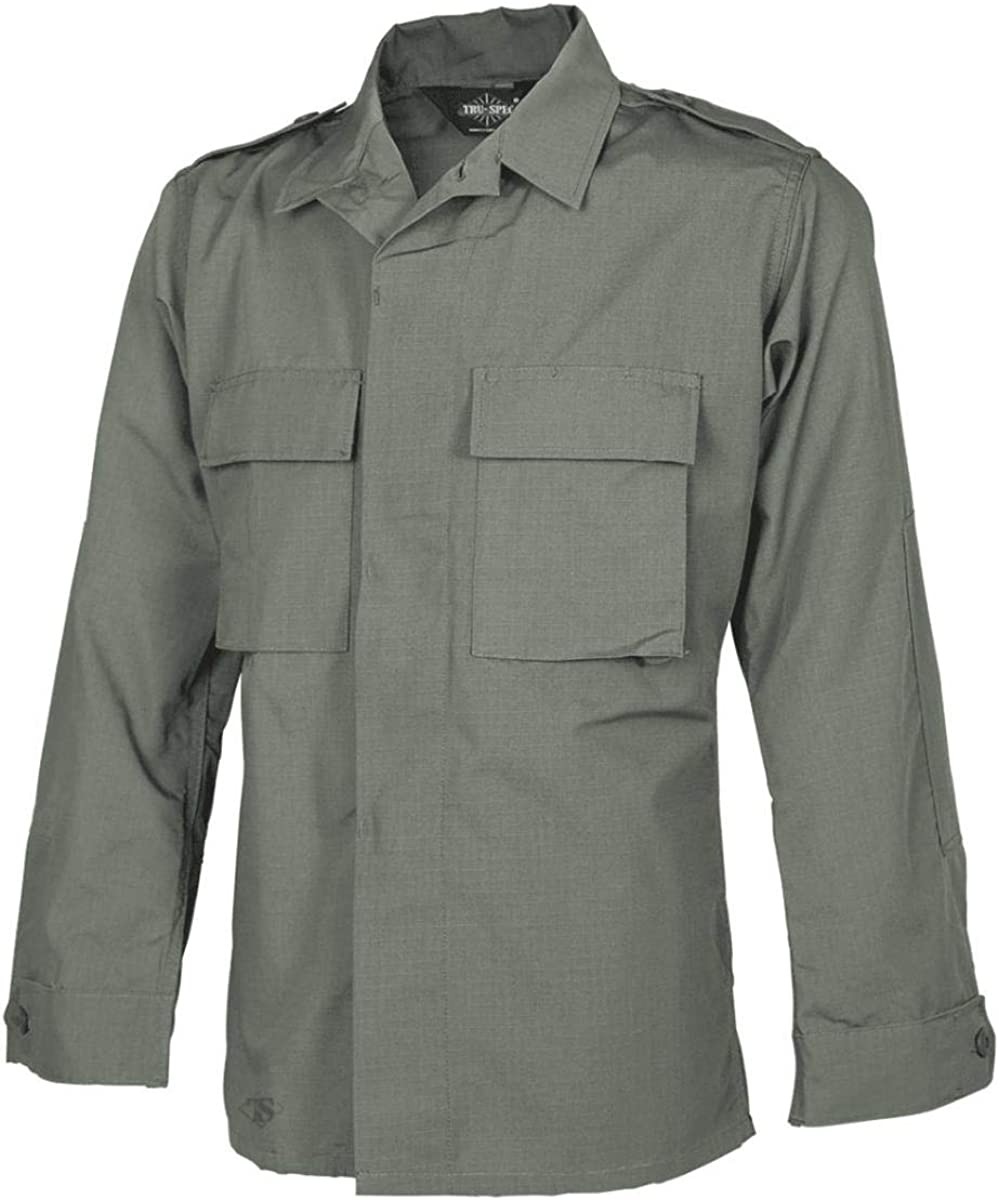 Tru-Spec 1379 Mens Long Sleeve Drab Shirt Tactical Cheap mail New sales order shopping Olive