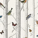 Papier peint Holden Decor 12231 Collection Enchanted Garden 10,05m x 0,53m (motif jardin enchanté)