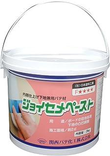 関西パテ化工 ジョイセメペースト 内部用パテ 仕上・下地兼用 3kg